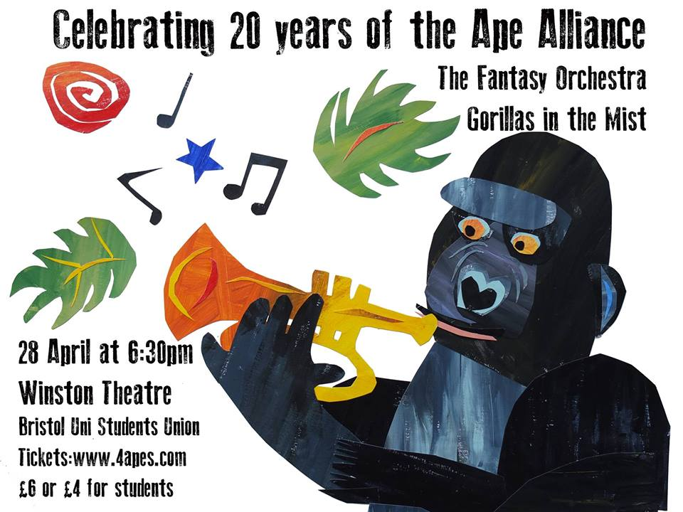 Celebrating 20 Years of Ape Alliance - Gorillas in the Mist and the Fantasy Orchestra