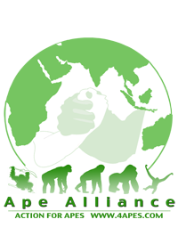 Ape Alliance Logo with Globe