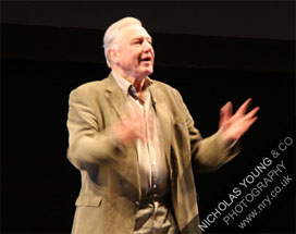 Sir David Attenborough hosts Hope 4 Apes 2010