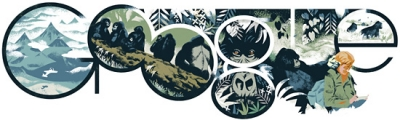 Google Doodle Celebrates Dian Fossey's 82nd Birthday