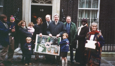At Number 10 Downing Street, March 2001