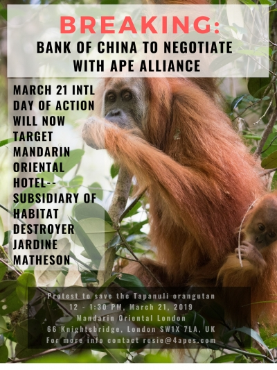 Breaking-Bank of China to Negotiate with Ape Alliance